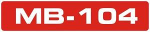 MB-104 logo