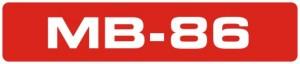 MB-86 logo
