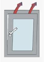 okno mikroventilace