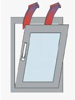 okno ventilace